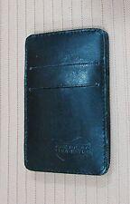 New Unused 1990's Black Leather American Tourister 3x4 Presto Wallet FREE S/H