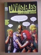 THE INVISIBLES : Campo di sterminio americano  - Book Magic Press 2000  [G476]