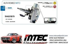 SERVOSTERZO ELETTRICO ALFA ROMEO MITO  PIANTONE  50517538