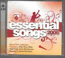 2 CD COMPIL 41 TITRES--ESSENTIAL SONGS 2008--MIKA/WINEHOUSE/MARRON 5/MORRISON