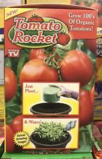 Tomato Rocket As Seen On TV, grow organic tomatoes.