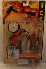 Spider-Man 2 Movie Scooter Spider-Man Peter Parker Pizza Launching Toy Biz (MOC)