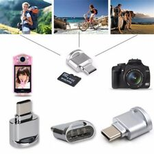 USB C Card Reader Micro SD/TF Type C Multi Memory Card Reader for Smartphones