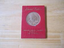 Eisenhower Memorial Coin-Medal Presented by Radio of Free Asia. SEALED