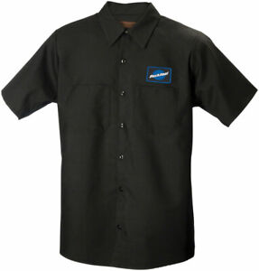Park Tool MS-2 MECHANIC SHIRT Black Medium