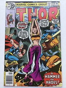 Thor 279, Marvel 1978, Jane Foster, Newsstand
