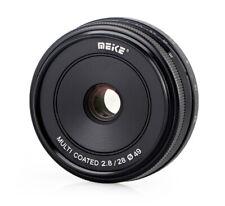 Meike MK-E-50-2.0 Objektiv 28mm F2.8 für Canon EOS M, multicoated