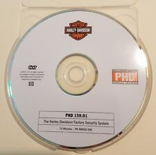 Official Harley-Davidson service training PHD DVD 159.01 Factory Security System