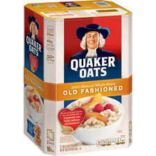 Quaker Oats Old Fashioned Hot Oatmeal Cereal, 10 lbs.