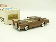 Western Models 1/43 - Lincoln Continental Mark IV Gold 1976