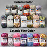 "50g (4.50€/100g) Schachenmayr "" Catania + Catania Fine Color "" 100% Baumwolle"