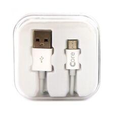 Core Micro USB Cable 1M White Storage Case