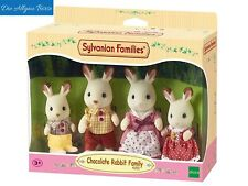 Sylvanian Families 4150 Schokoladenhasen Familie Löffel Chocolate Rabbit Neu OVP