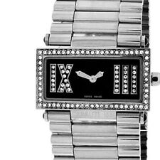 CERRUTI 1881 LADIE'S SCATOLA SOGNO SWISS QUARTZ WATCH NEW BLACK CT68272X403011