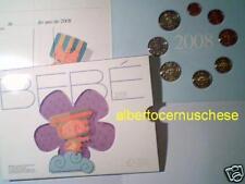 2008 8 monete EURO PORTOGALLO portugal Baby Bebé Bebe