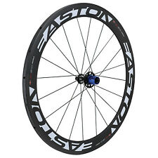 Easton EC90 Aero 56mm Tubular REAR road wheel 10 Speed Shimano - Closeout