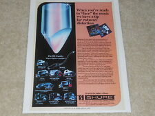 Shure 1979 V15 Type IV Ad, Type III, M97HE, V15LT, Articl, 1 Page