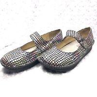 Alegria Sz 38 EU Paloma Pastel Stone Leather Mary Jane Professional Shoes Nurse