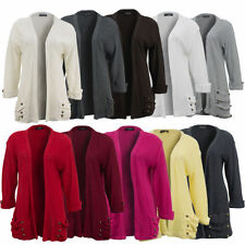3/4 Sleeve All Seasons Regular Jumpers & Cardigans for Women
