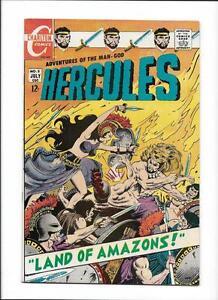 "HERCULES #5  [1968 FN-VF]  ""LAND OF AMAZONS!"""