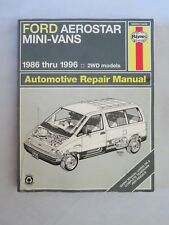 Ford Aerostar Mini-Vans 1986 thru 1996 - Haynes Repair Manual