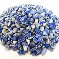 1/2lb Natural Tumbled Lapis Lazuli Crystal Afghanistan Bulk Stone Reiki Healing