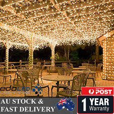 250 LED 50M Warm White Fairy Christmas String Strip Lights Wedding Party Outdoor