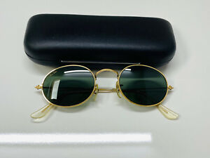 Vintage Ray-Ban Aviator/Oval Bausch&Lomb USA sunglasses G15 Good Used Condition