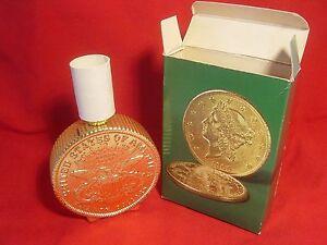 VINTAGE - 1970's TWENTY DOLLAR GOLD PIECE DECANTER  (EMPTY)
