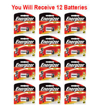 12x Energizer CR123A Battery CR123 CR 123 Lithium 3V Photo Carded (1-Pack) FRESH