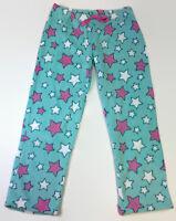 Blue Stars Coral Fleece Pajama Pants for Women Soft Plush Lounge Pants