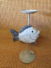 New 28cm Tall  Fish Candle Holder