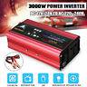 3000W Car Power Inverter DC12V/24V to AC220V Modified Sine Wave Converter Power