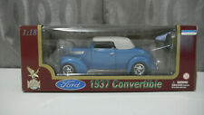 1937 Ford Convertible - Die Cast Metal 1:18 Scale  - Road Legends Collection