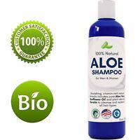 HONEYDEW Aloe Vera Shampoo - 8 Oz | Hydrating Sunflower & Keratin | 100% NATURAL