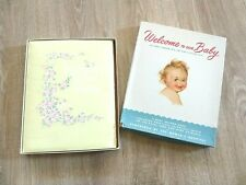 Vintage Baby Record Book Welcome Keepsake