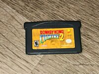Donkey Kong Country 2 Nintendo Game Boy Advance GBA Authentic