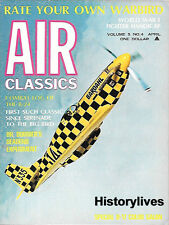 Air Classics Apr.69 B-24 Consolidated Dornier Flying Boat French Fighters WW II