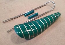 """20"""" GREEN  SPARKLE Stingray Krate Bicycle BANANA SEAT SISSY BAR Grips Included"""