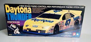 Tamiya NIB 1/10 Original Vintage DAYTONA THUNDER WITH DYNA TECH 1995 #58153 RARE