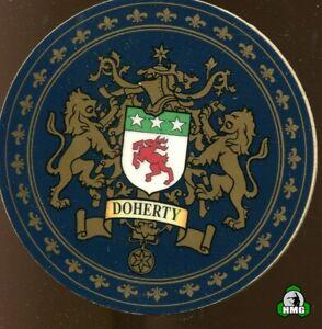 English Heraldic Coaster: Doherty