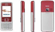 Nokia 6300 Rot Entsperrt Kamera Bluetooth Klassisch Handy Neu