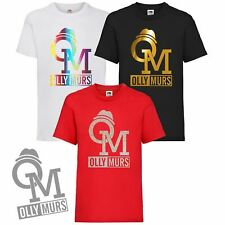 New Ladies Womens OLLY MURS Girls T-Shirt 2019 Ladies Tour Concert Baggy Tee Top