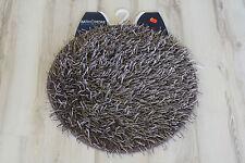 Alfombra de baño alfombra de baño langflor 100cm Rendondo Marrón MAURICIO