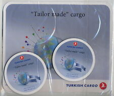 TURKISH CARGO 1 + 2 mouse pad set sealed - mint cond