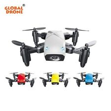 Global Drone S9W Foldable Mini Wifi FPV Drone with Camera HD Headless Mode