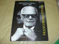 Francobolli Pertini Bolaffi vuoto1978  85