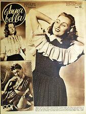 * Anna bella N° 27 del 6 Luglio 1943 *