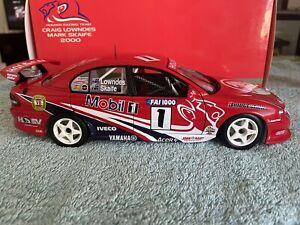 1:18 Autoart Lowndes/Skaife 2000 Bathurst HRT Holden VT Commodore V8 Supercar