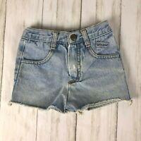 Vintage VTG Baby Guess Jeans sz 18 months cut-off light denim pants 80s 90s